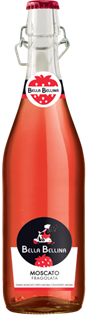 Bella Bellina Moscato Fragolata 750ml